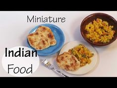 Easy Indian Food; Naan & Tawa Pulao - Polymer Clay Tutorial - YouTube