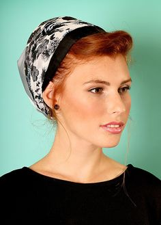 5a1984828c9 Gray head scarf with flowers