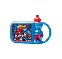 Get your Spidey-sense going with this lunchbox bottle combo. All the kids in the playground are going to want one after they see yours.  Spider-Man lunchbox combo. Available while stocks last.