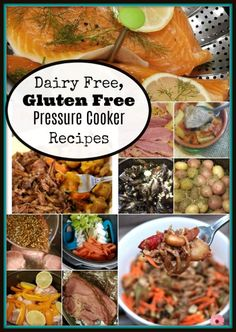 Are you or a family member suffering from gluten and dairy sensitivity? You can still eat delicious food, check out my list of favorite gluten free and dairy free pressure cooker recipes. Gluten Free Diet Plan, Dairy Free Diet, Egg Free Recipes, Healthy Recipes, Gf Recipes, Dinner Recipes, Easy Pressure Cooker Recipes, Pressure Cooking, Dairy Free Eggs