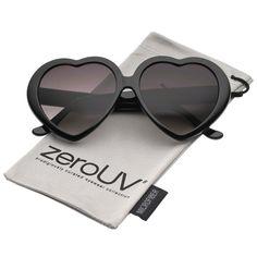 fdcda8d06b9 Women s Oversize Gradient Lens Heart Sunglasses 56mm. Glasses OutfitOversized  GlassesHeart Shaped ...