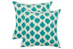 Ikat Dots Pillows