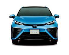 909c8781105 Toyota revela veículo a Hidrogénio de produção em série Stand Automoveis
