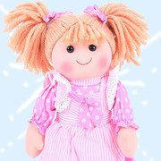 Traditional Rag Dolls with character and beautiful clothes #zulilyuk!