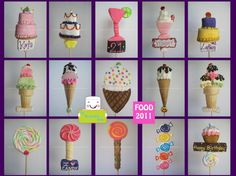 Food Collection Marshmallow Pops 2011