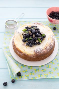 Ricotta Cake, Cupcake Cakes, Fruit Cakes, Let Them Eat Cake, Queso, Italian Recipes, Yummy Food, Delicious Recipes, Cake Recipes