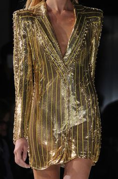 Versace Atelier at Couture Spring 2013 .....beautiful Gold