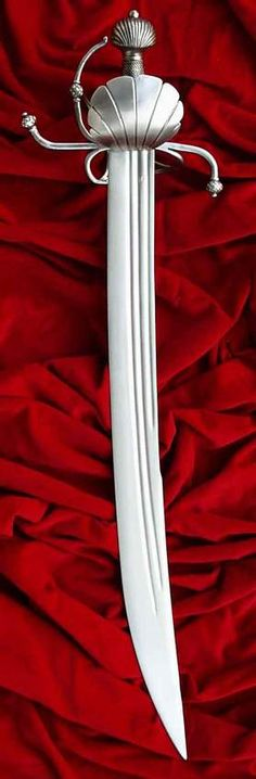 I have a thing for cutlasses with scallop shell guards
