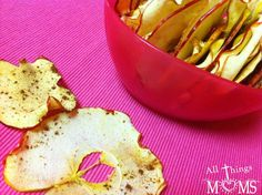 Apple Chips in the microwave in under 10 minutes!