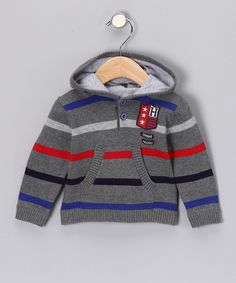 Gray Rabbit Knit Hoodie - Infant & Toddler #zulily #fall