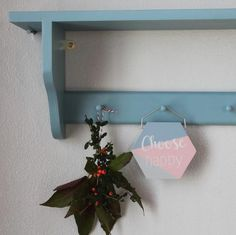Wooden shelf | Peg rail | Storage | Goodwood Originals