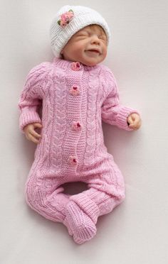 Нand knitted woolen jumpsuit Knitted romper baby girl Coming home knite outfit Baby coverall Hand knitted baby clothes : Нand knitted woolen jumpsuit Knitted romper baby girl Coming image 3 Knitting Patterns Boys, Sewing Patterns Girls, Baby Knitting, Knitting Ideas, Baby Dress Patterns, Baby Clothes Patterns, Coat Patterns, Knitted Baby Clothes, Knitted Romper