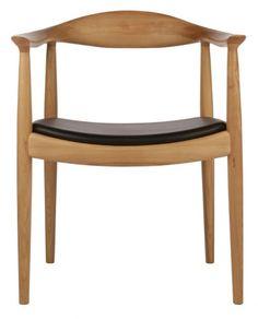 Replica Hans Wegner Round Chair Ash | Matt Blatt