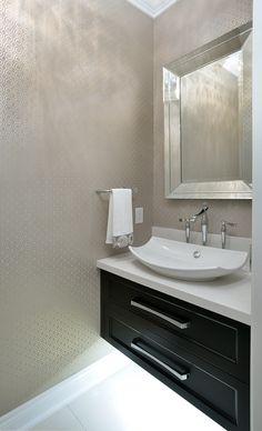 #interiordesign #freestandingbath #freestandingtub #plumbing #bathroomdesign #bathroomart #bathroom #bathroomremodel #plumbingfixtures #designideas #love #loveit #construction #masterbath #masterensuite #interiors #spa #faucet #inspire_me_home_decor #decorating #contracting #elegant #vesselsink #floatingvanity #vanitylights #silvermirror #bathroommirror #wallpaper
