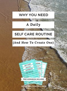 Self care is an important healthy habit to develop for your mental health, as well as the management of depression and anxiety.  This article will convince you that you need a daily self care routine and will teach you how to create your own. #mentalhealth #selfcare #healthyhabits #dailyhabits #depression #anxiety