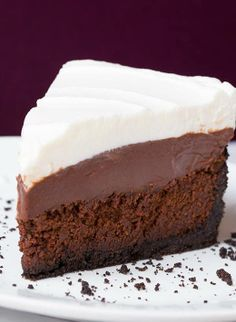 Mississippi Mud Pie - four layers of complete bliss. This will have everyone raving! http://www.cookingclassy.com/2013/11/mississippi-mud-pie/ <- Recipe  Vadora   Please √ Like √ Comment √ Share √ Thank you! Stay connected to us by sharing Confessions of Crafty Witches Remember to visit my page daily to see all our postings & Contests