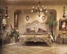 french Bedroom Decorating Ideas   the french style is always identical with antique furniture design ...