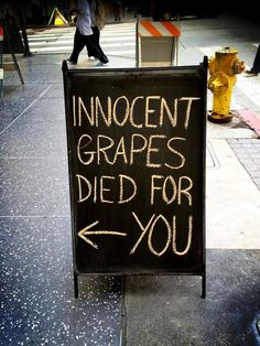 Wine store ad via Stana Katic on twitter
