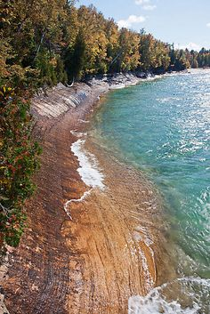 Just past Miner's Beach, Michigan