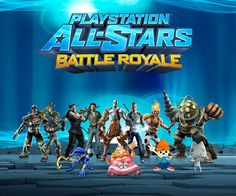 Explore this interactive image: All-Stars Battle Royale PS3 game by playstation3