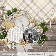 All Is Calm by Kristin Cronin-Barrow and Jady Day Studio   Layered Cards - December Edition by Cindy Schneider   *Set 200* by Cindy Schneider