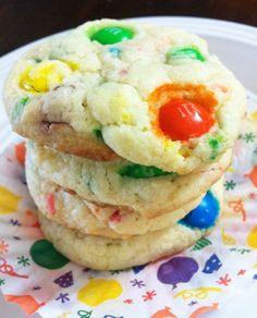 ... Chocolate Chip Cookies. on confetti sugar cookies made with cake mix