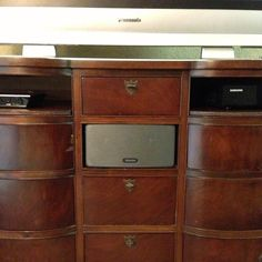 Sonos user Dave has a unique way of showcasing his sound. How do you #Sonos at home? [image via Facebook.com/sonos]