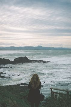 ...the seaside. The waves crashing against the rocks. The peace, the quiet and…