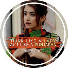 Punjabi Attitude Quotes, Attitude Quotes For Girls, Punjabi Quotes, Girl Quotes, Smile Quotes, Qoutes, Punjabi Captions, Priorities Quotes, Dp For Whatsapp