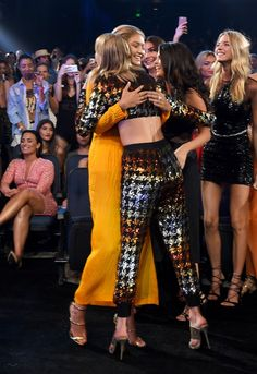 Pin for Later: 45 Celebrities Who Can't Believe They're Hugging Taylor Swift Gigi Hadid