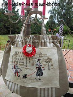 sac de l'atelier de cerise
