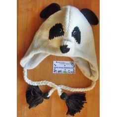Bonnet panda tricot Bonnet Panda, Bonnets, Winter Hats, Kids, Man Women, Men, Boss, Children, Young Children