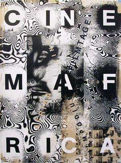 By Ralph Schraivogel,1 9 9 1, Festival de films africains, Filmpodium Zürich. @designerwallace