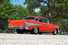 Chevrolet: Bel Air/150/210 1957 chevrolet bel air resto mod 496 4 speed frame off restored pro tour chevy Check more at http://auctioncars.online/product/chevrolet-bel-air150210-1957-chevrolet-bel-air-resto-mod-496-4-speed-frame-off-restored-pro-tour-chevy/