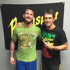 CM Punk at Rufousport in Milwaukee, WI.