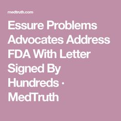 Essure Problems Advocates Address FDA With Letter Signed By Hundreds · MedTruth