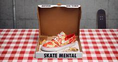 La dieta skater de la pizza con la Janoski de Nike SB con Skate Mental | 25 Gramos