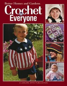 Crochet For Everyone Crochet Kits, Knit Crochet, Crochet Patterns, Baby Kit, Baby Afghans, Kits For Kids, Snow Suit, Striped Cardigan, Better Homes And Gardens