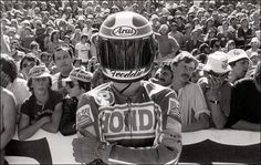 Cool pic of 'fast ' Freddie Spencer