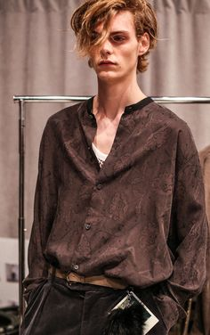 Mats Van Snippenberg, at Robert Geller, New York Fashion Week, Menswear