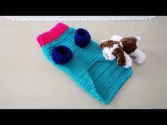 Crochet - Mandala a crochet Diy Crochet, Crochet Baby, Crochet Dog Sweater, Dog Sweaters, Crochet Videos, Dog Dresses, Baby Dogs, Pet Clothes, Pet Shop
