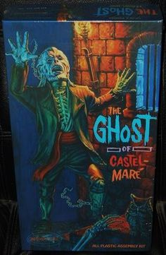 Ghost of castle mare Vintage Games, Vintage Toys, Vintage Models, Plastic Model Kits, Plastic Models, Horror Action Figures, Monster Squad, Hobbies For Kids, Disney Pictures