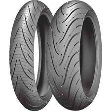 PAIR 120/70ZR17 58W TL F & 190/55ZR17 75W TL R Michelin Pilot Road 3 New Tyres, Pilot, Pairs, Pilots