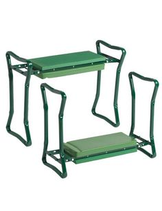 garden or shop stools Green Padded Cushion Garden Kneeler