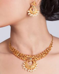Chahel Necklace Set