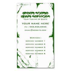 Lawn care grass cutting business card lawn care lawn and business green scene grunge business card templates lawn care flashek Image collections