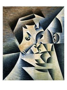 size: Giclee Print: Portrait of Josette by Juan Gris Art Print by Geoffrey Clements : Entertainment Find Art, Framed Artwork, Giclee Print, Entertaining, Art Prints, Portrait, Abstract, Poster, Products
