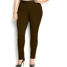 INC International Concepts Plus Size Pull-On INC International Concepts Plus Size Pull-On Skinny Ponte Pants INC International Concepts Pants