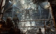 Pacific Rim concept art by Henry Fong