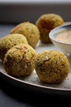 """Air Fried Falafel 